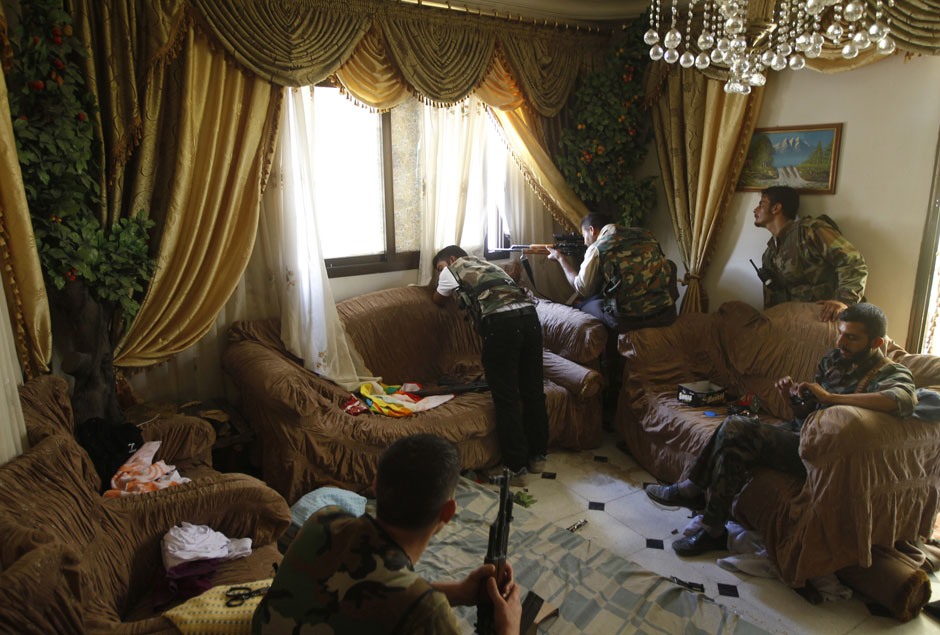 Photos 18 Days With The Syrian Rebels